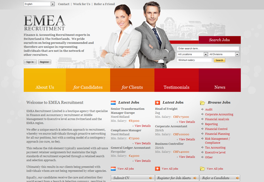 EMEA Recruitment
