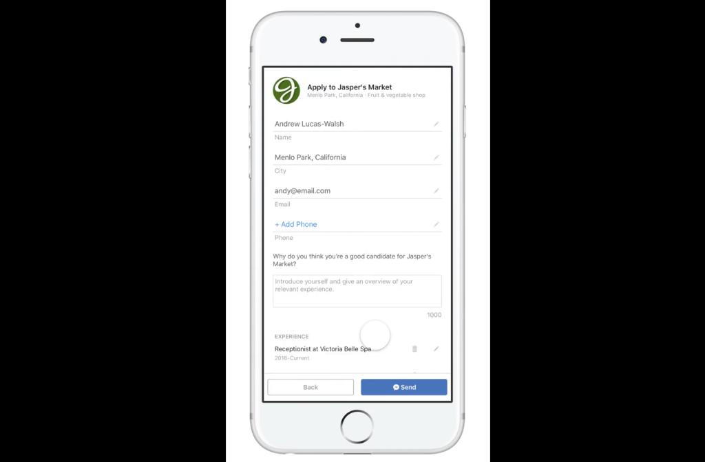 Facebook Recruitment News