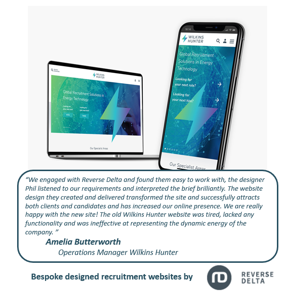 Digital Recruitment Website Design - Wilkins Hunter