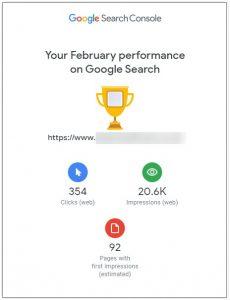 Search Console February