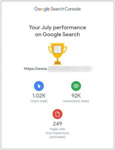 Search Console July