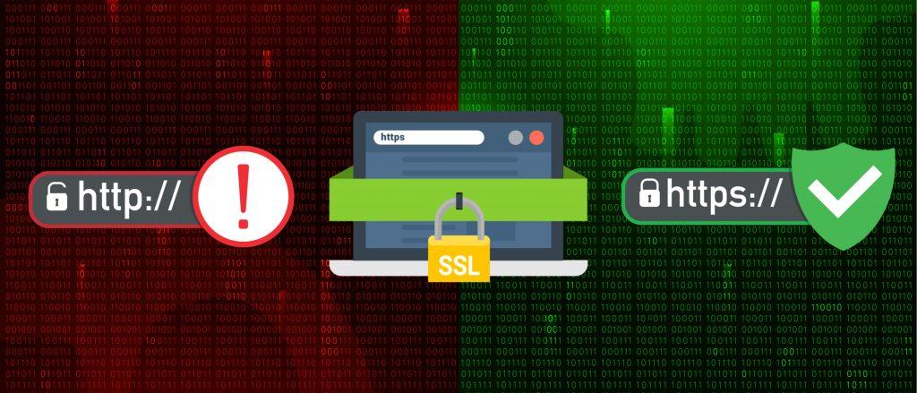 Unsecure vs Secure SSL Certificate websites
